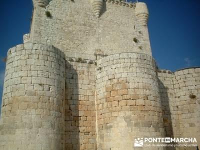Coca - Ruta de castillos - Castillos Valladolid - Castillos Segovia - Castillo Iscar; botas trekking